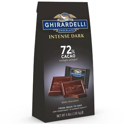 Ghirardelli Intense Dark Twilight Delight 72% Cacao Chocolate Squares - 4.8oz