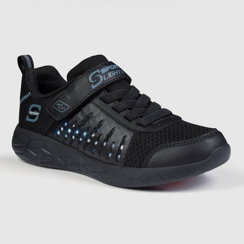 Boys' S Sport by Skechers Elio Performance Athletic Shoes - Black - image 1 of 3
