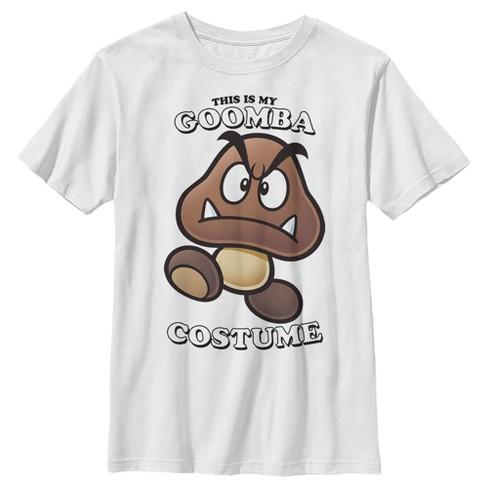 Boy's Nintendo Goomba Costume T-Shirt - image 1 of 1