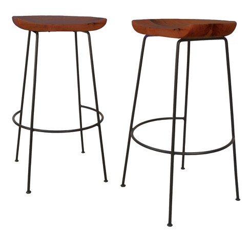 Set of 2 Bryson Bar Stool - Carolina Chair & Table - image 1 of 3