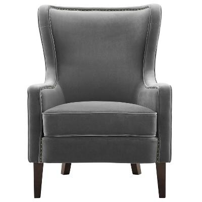 """18"""" Rosco Velvet Accent Chair - Steve Silver"""