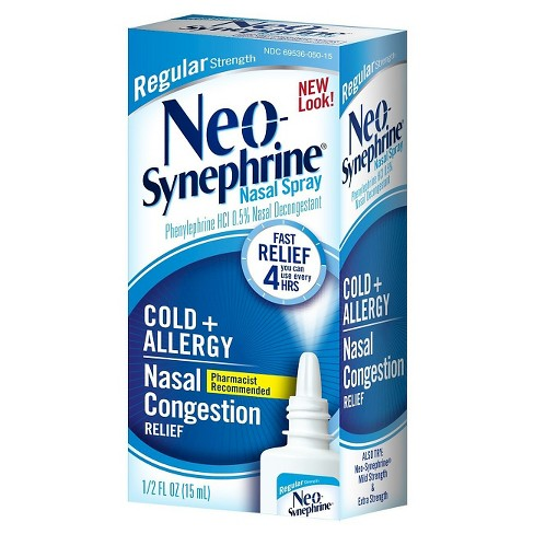 NeoSynephrine Cold and Sinus Regular Strength Nasal Spray .5 fl oz - image 1 of 1