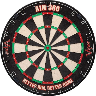 Viper AIM 360 Sisal Self Healing Practice Dartboard w/ Removable Aiming Circles