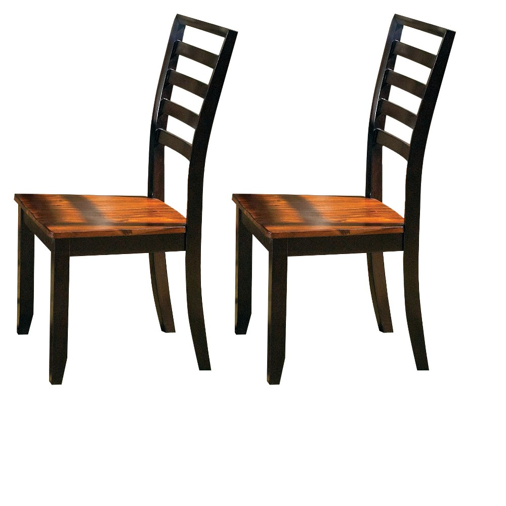 Blair Side Chair Cherry (Red) (Set of 2) - Steve Silver