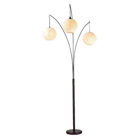 Adesso Spheres Arc Lamp - Rubbed Bronze - image 1 of 1