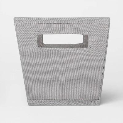 Fabric Quarter Bin Gray - Threshold™