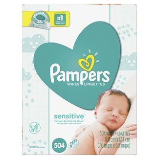 Pampers Sensitive Wipes - 504ct