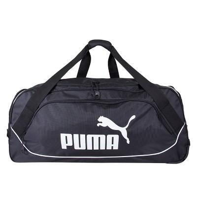Puma 30  Rolling Duffel Bag - Black