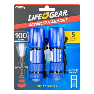 Life Gear 2pk LED Mini-Max 100 Lumens