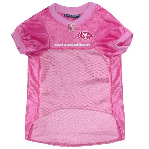 a132c023 NFL Pets First Pink Pet Football Jersey - San Francisco 49ers