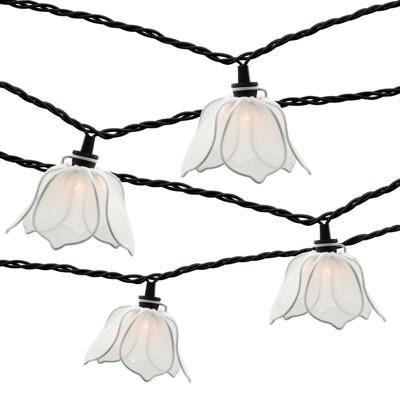 10ct String Lights - White Flower - Threshold™