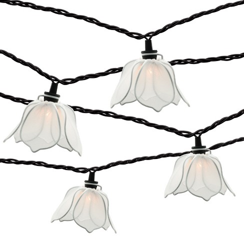 10ct string lights white flower threshold target about this item mightylinksfo