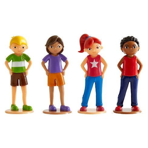 Wonderhood Kids Figurine Set - image 1 of 6