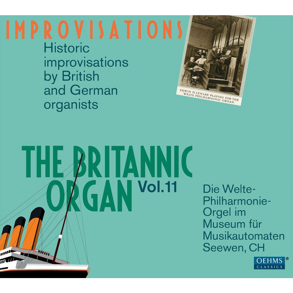 Various - Britannic Organ:Improvisations Vol 11 (CD)