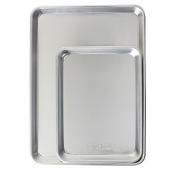 Nordic Ware 2pk Aluminum Cookie Sheet
