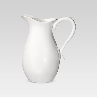 2.5L Porcelain Pitcher White - Threshold™