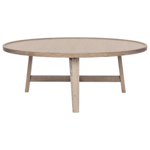 Malone Mid Century Coffee Table Safavieh