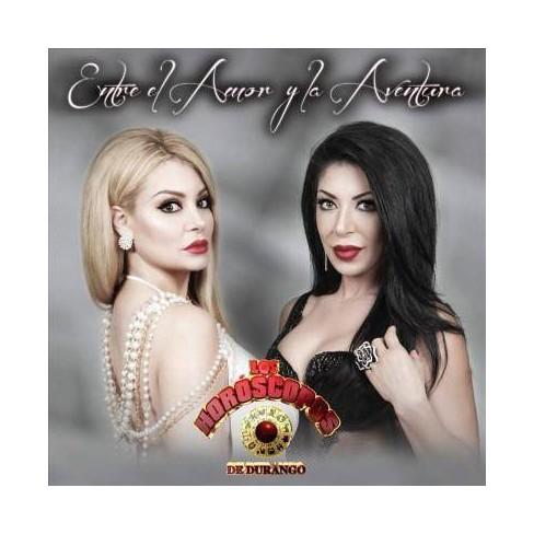 Los Horoscopos De Durango - Entre El Amor Y La Aventura (CD) - image 1 of 1