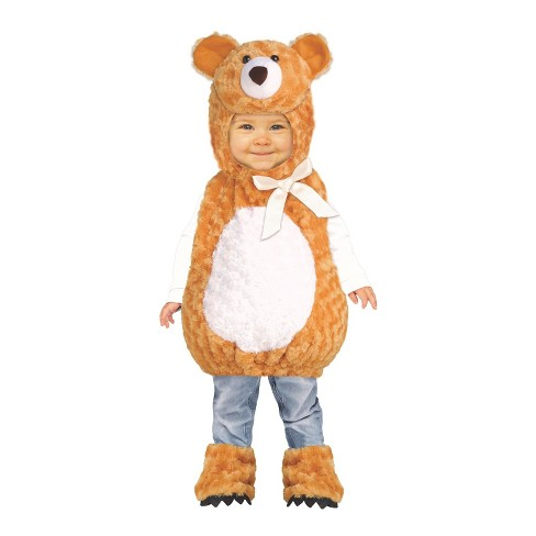 Toddler Teddy Bear Halloween Costume 2T-4T - image 1 of 1