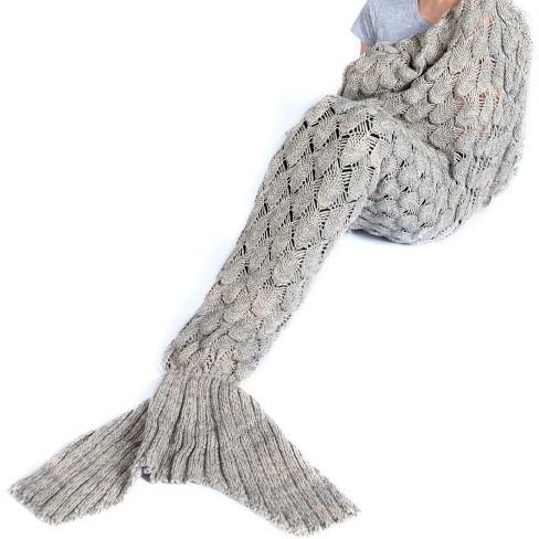 Mermaid Blanket - Shiraleah - image 1 of 3