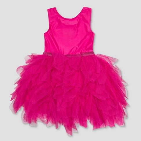 0393f2bdcacfd Toddler Girls' Mickey & Friends Minnie Mouse Bow Tutu Dress - Pink