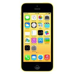 Apple iPhone 5c Certified Pre-Owned (GSM Unlocked) 16GB Smartphone - Yellow