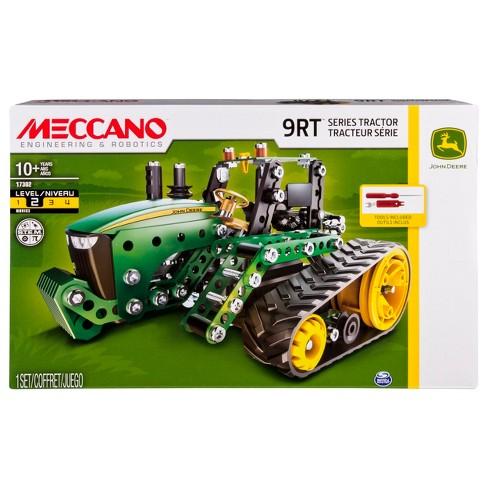 Meccano-Erector - John Deere 9RT Series Tractor Building Set - image 1 of 4