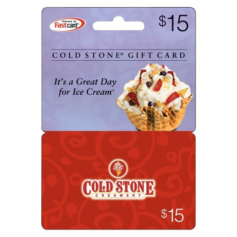 Cold Stone Creamery $15 - image 1 of 1