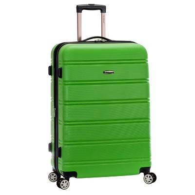 Rockland Melbourne 28  Expandable Hardside Spinner Suitcase - Green