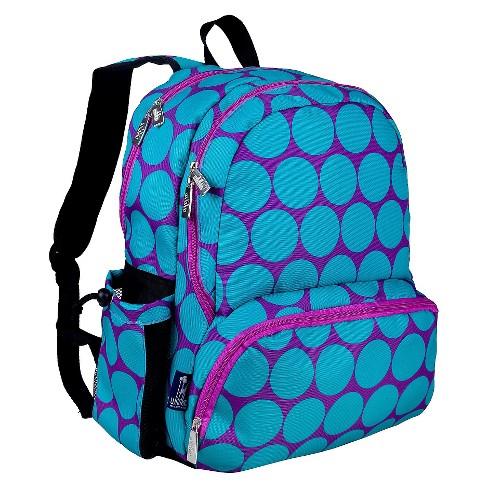 e85b400a10c9 Wildkin Big Dot Megapak Kids  Backpack - Aqua   Target