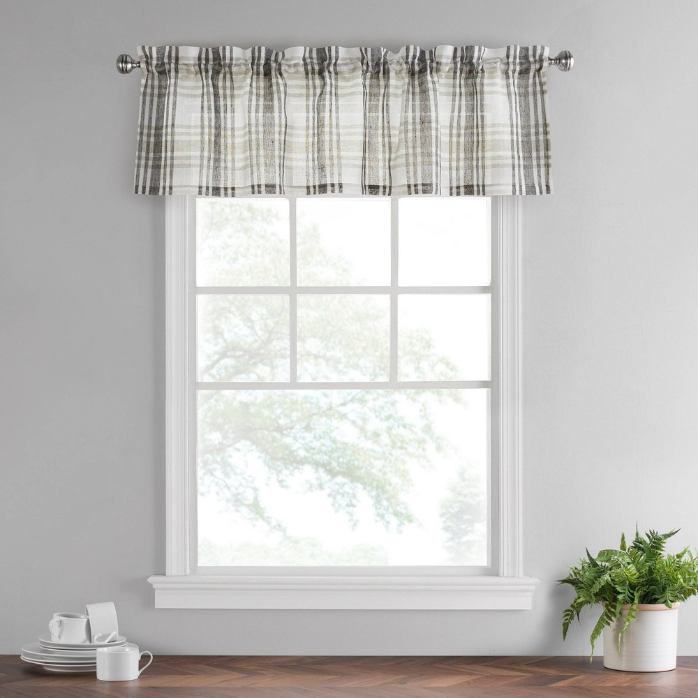 "Image of ""14""""x52"""" Featherdown Valance Gray - Vue"""