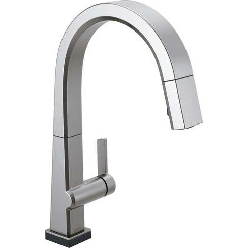 Delta Faucet 9193t Dst Pivotal 18 Gpm Single Hole Pull Down Kitchen Faucet