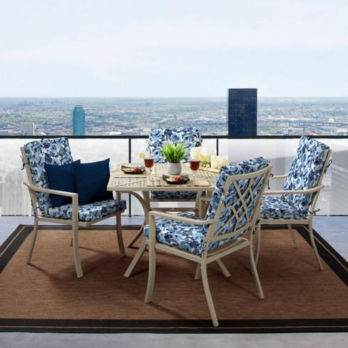 Garden Delight Clean Finish Outdoor Chair Cushion Arden Selections