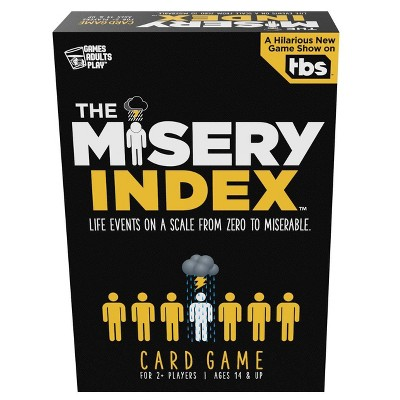 Games Adults Play The Misery Index Card Game