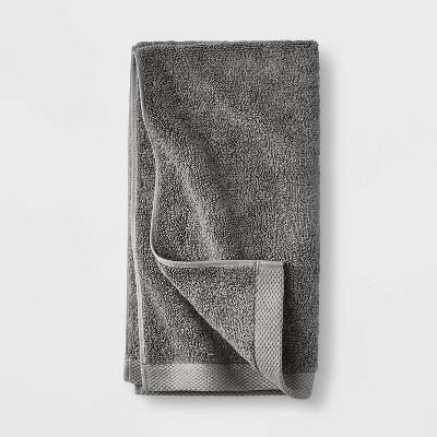 Organic Hand Towel Dark Gray - Casaluna™