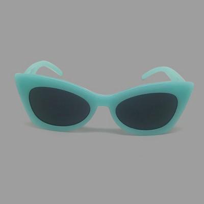 Toddler Girls' Surf Sunglasses - Cat & Jack™ Aqua Blue