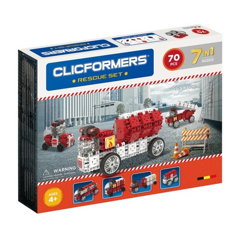 Clicformers Rescue Building Set - 70pc - image 1 of 2