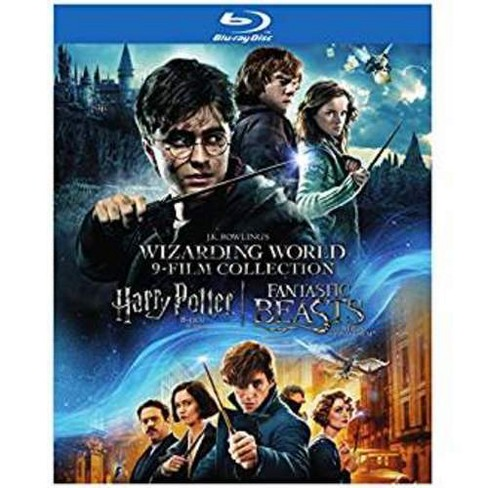 Wizarding World 9-Film Collection: Potter Films+Fantastic Beasts (Blu-ray) - image 1 of 1