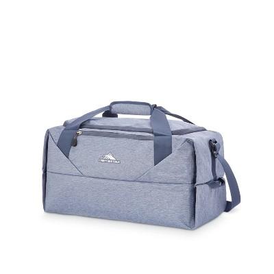 High Sierra 50L Packable Duffel Bag - Black/Blue