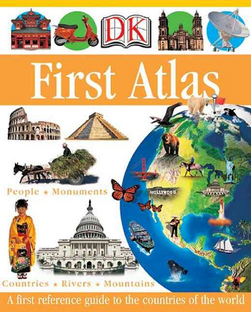 Dk First Atlas (Hardcover) (Anita Ganeri) - image 1 of 1