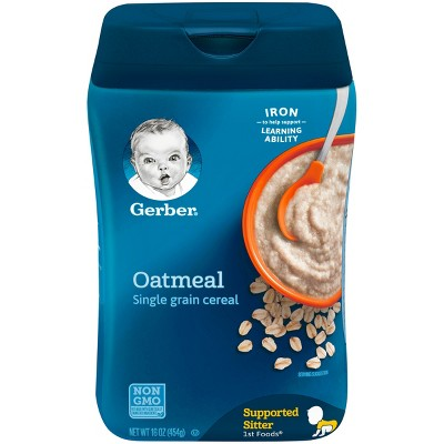Gerber Single Grain Oatmeal Baby Cereal - 16oz