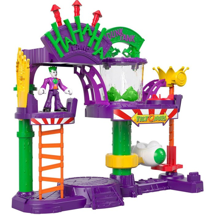 Fisher-Price Imaginext DC Super Friends The Joker Laff Factory - image 1 of 9