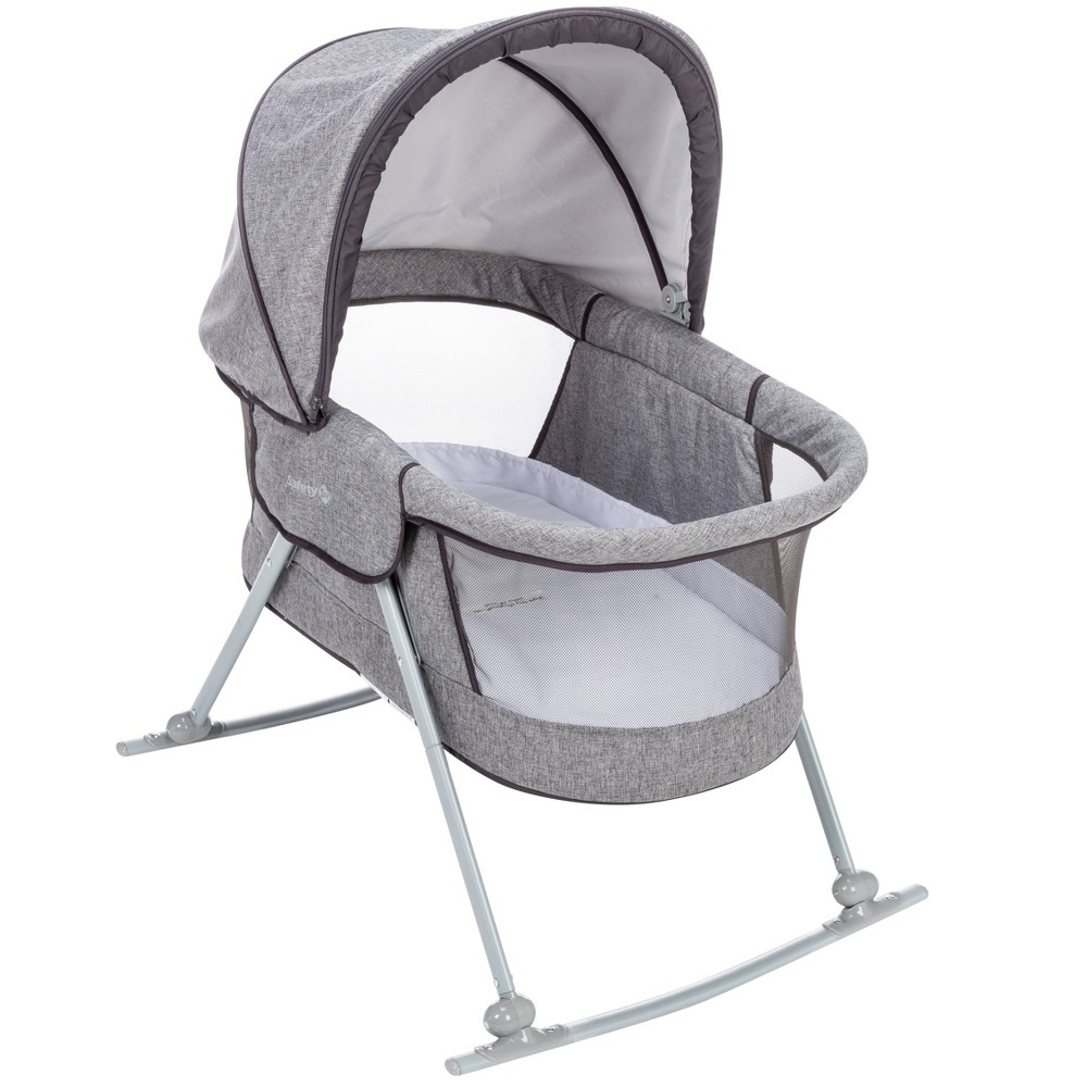 Image of Safety 1st Nap and Go Travel Bassinet - Gray