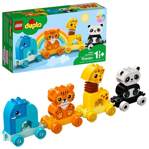 LEGO DUPLO My First Animal Train Pull-Along 10955 - image 1 of 4