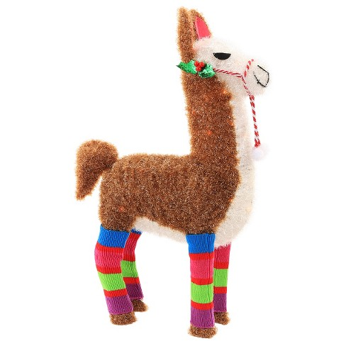 about this item - Llama Christmas Decoration
