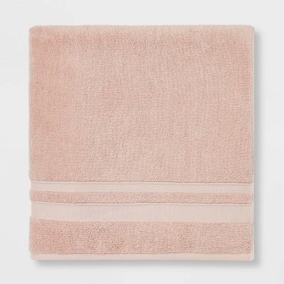 Performance Bath Sheet Pink - Threshold™