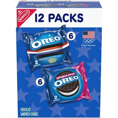 Oreo Limited Edition Olympic Team USA Sandwich Cookies - 12oz