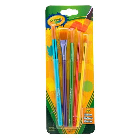 Crayola 5ct Paint Brush Variety Pack - image 1 of 4