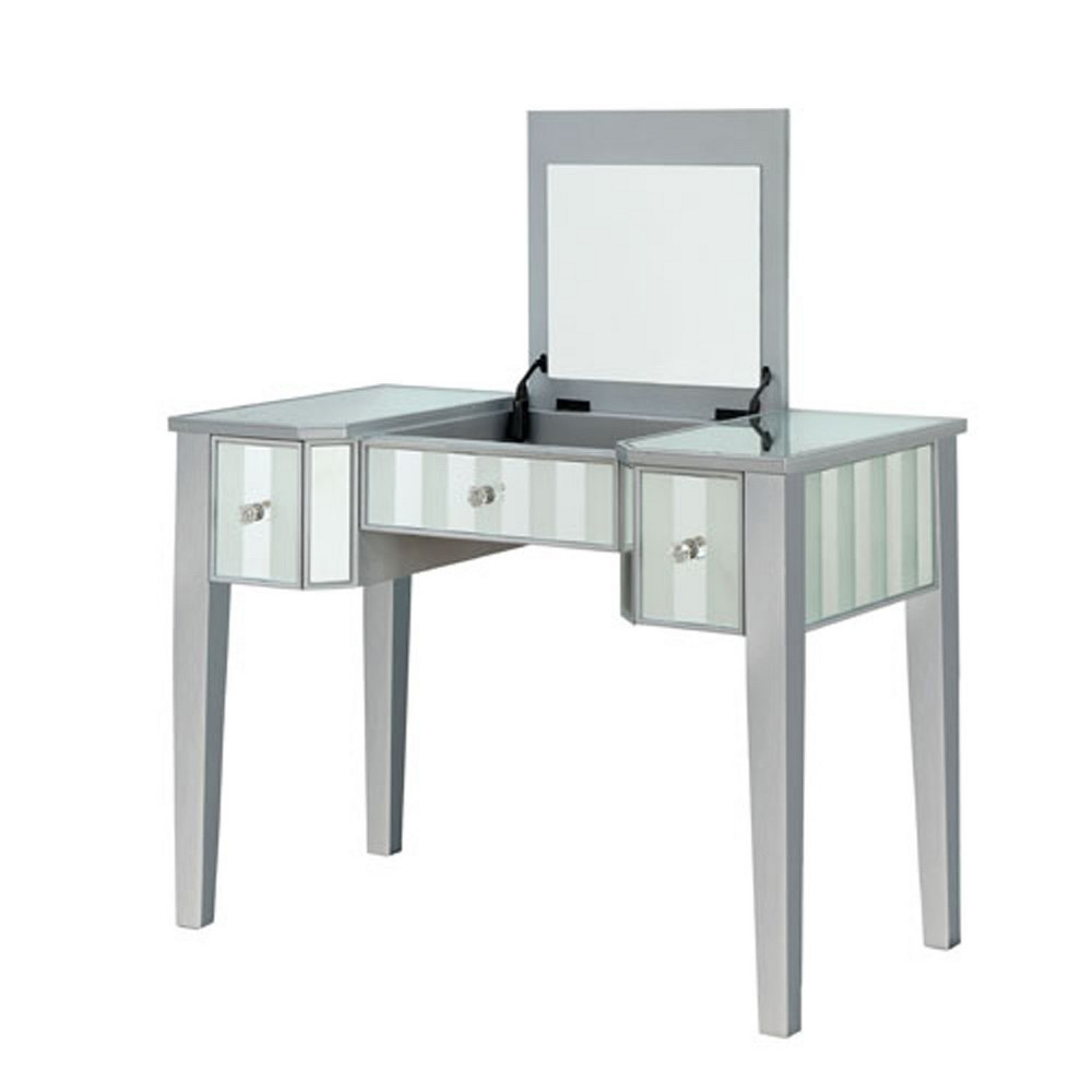 Reece Vanity Set Silver - Homes: Inside + Out
