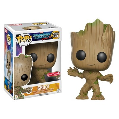 """Funko POP! Movies: Marvel Guardians of the Galaxy 2 - Groot Figure 10"""""""